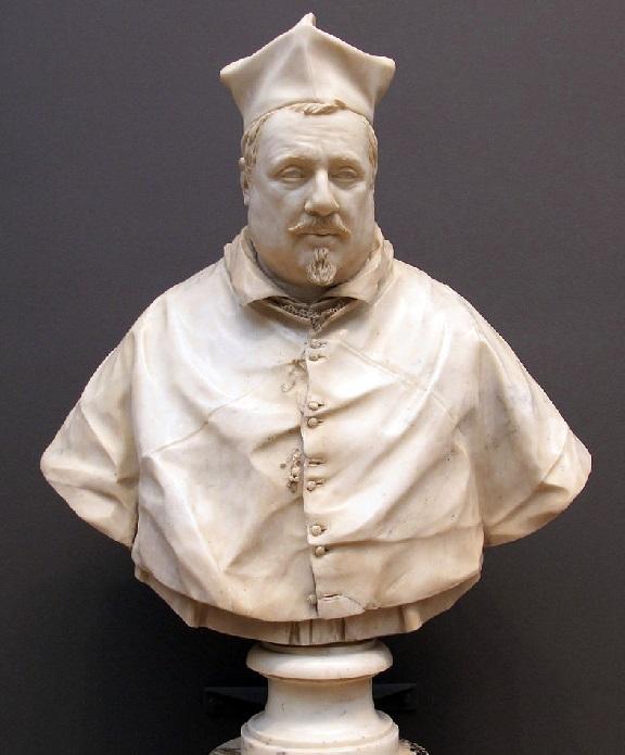 Kardinal Montalto. «Кардинал Монтальто». Боде музей, Берлин. Скульптор: Джулиано Финелли.