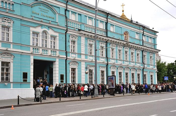 Галерея Ильи Глазунова на Волхонке. (Фото 2009 года)