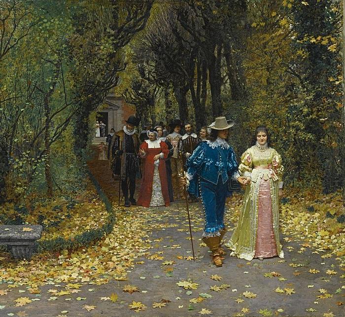 В парижском Салоне за полотно «Обручённые» художник был награжден медалью второй степени.
