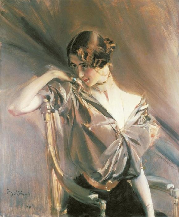 «ПортретКлео деМерод»,пастель. Автор: Дж. Болдини.
