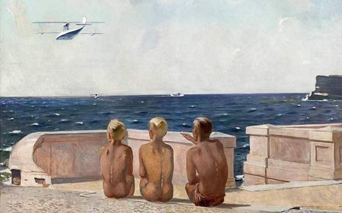 Будущие летчики. 1938 год.