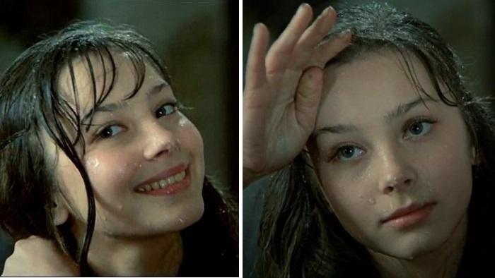 Галина Беляева в юные годы.