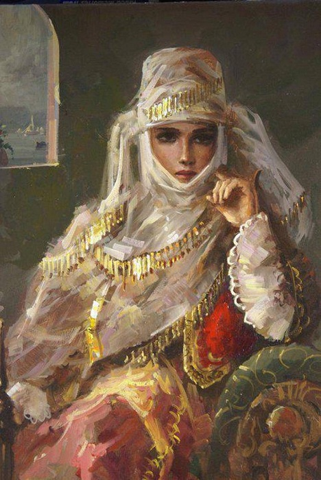 «Восточная красавица». Автор: Remzi Taskiran.