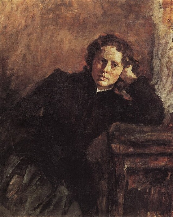 У окна. Портрет О.Ф. Трубниковой, 1885 год. Третьяковская Галерея. Автор: Валентин Серов.