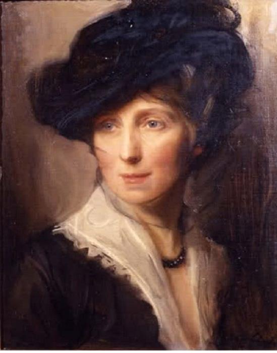 Портрет жены художника. Автор: Филипп Алексис де Ласло.