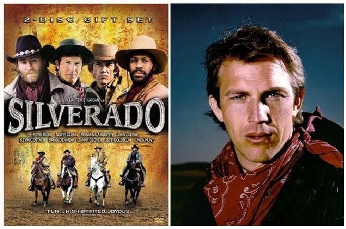 Кевин Костнер в кинофильме «Сильверадо».