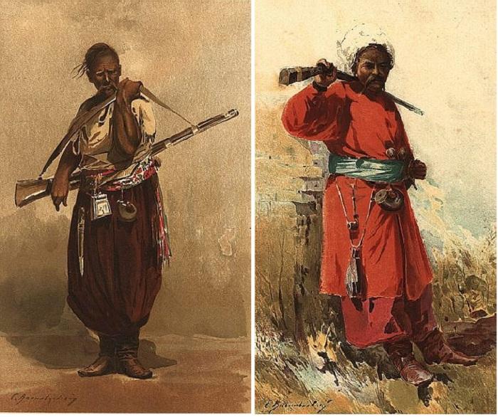 «Тип запорожца». (1900 г.). Автор: Сергей Васильковский.