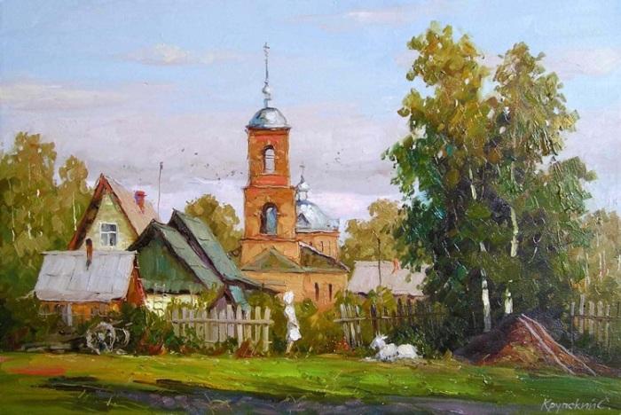 Живописные пейзажи Сергея Крупского.