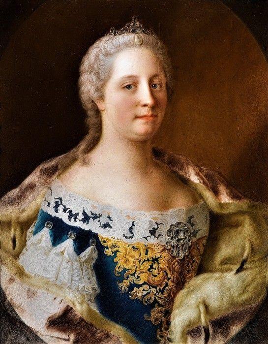 Мария Терезия. Жан-Этьен Лиотар.