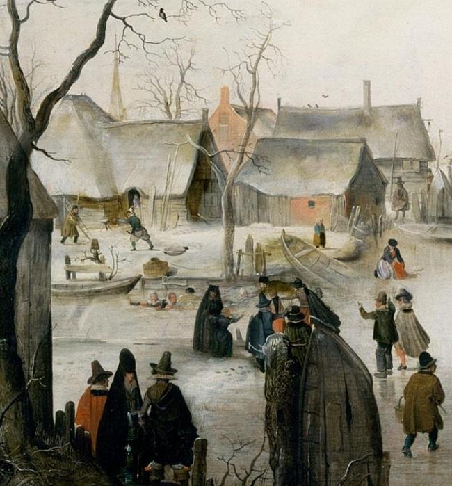 Ледяной город. (Фрагмент 1).