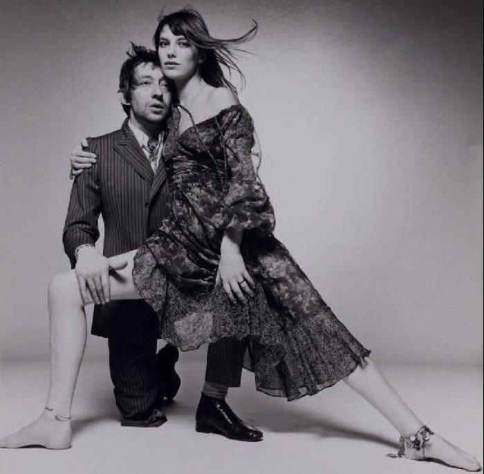 Серж Генсбур и Джейн Биркин.
