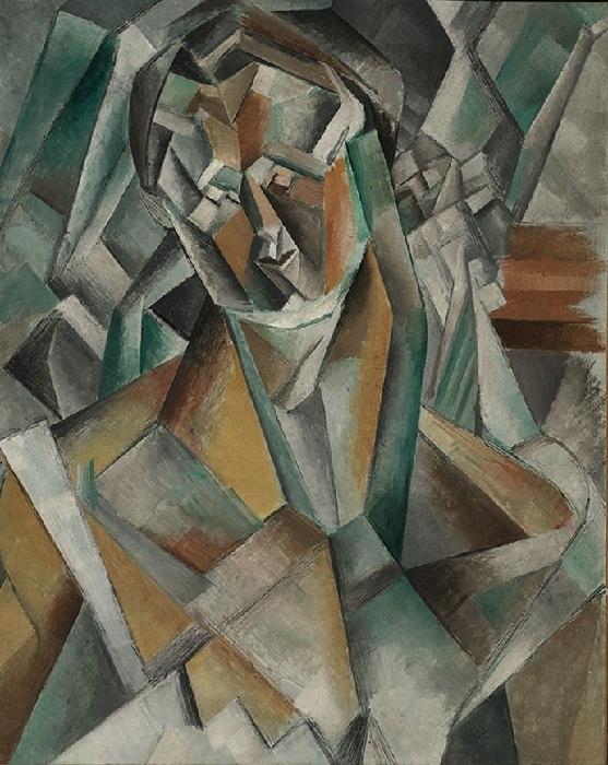 Сидящая женщина. Автор: Пабло Пикассо.