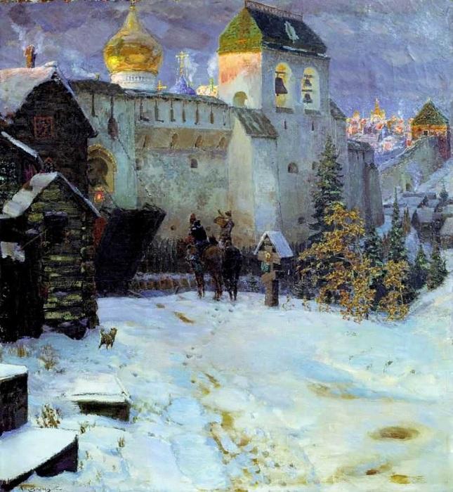Старорусский город. Автор: Аполлинарий Васнецов.