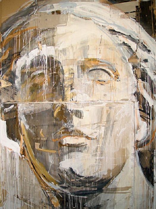 Афродита из Пергама. (1992).<br>Холст; масло. 178 х 148,5. Цена продажи: 14 900 фунтов (Sotheby's. 2008). Автор: Валерий Кошляков.