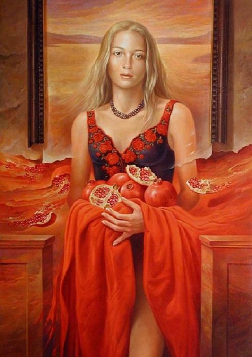 Обворожительные женщины Альберто Панкорбо.