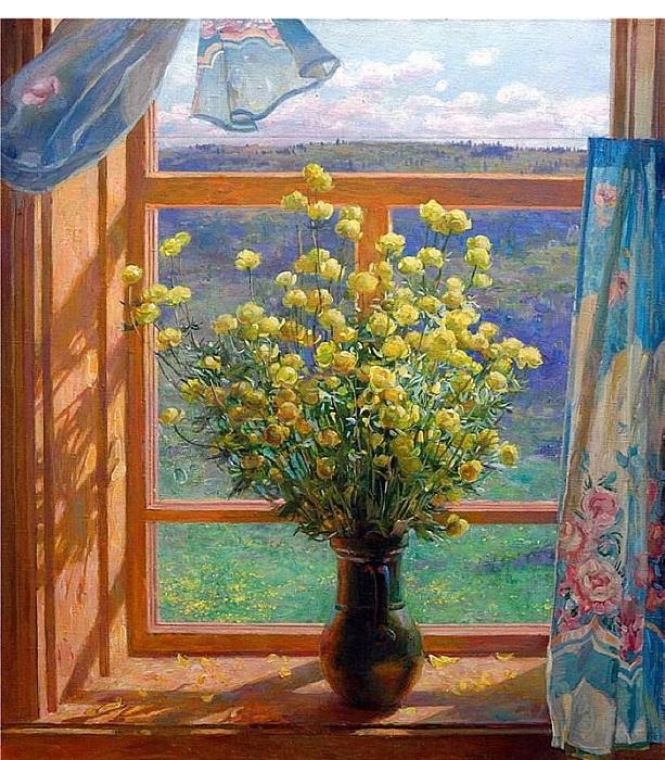 *Окна в живописи* от Владимира Коркодыма.