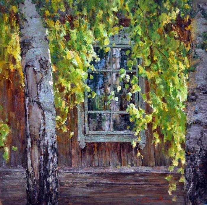 *Окна в живописи* от Валентина Короткова.