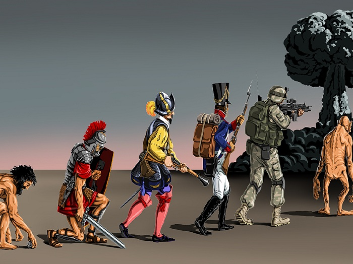 Эволюция человечества. Автор: Гюндуз Агаев.