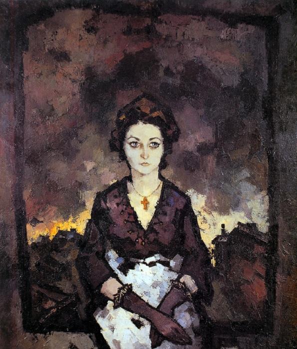 Портрет Надежды Эльской.