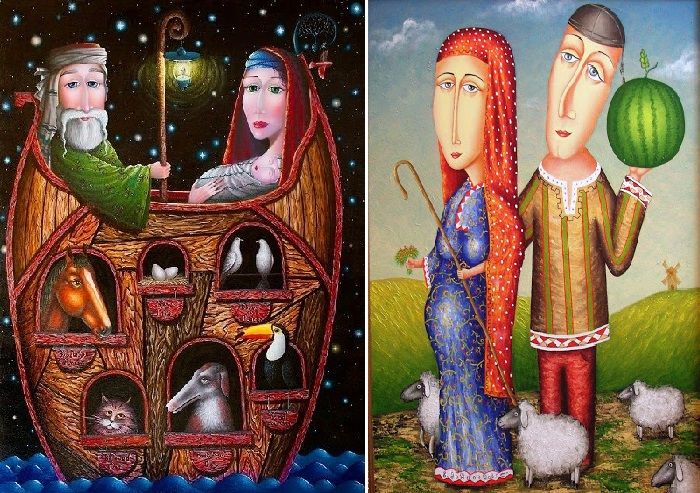 Ноев ковчег. / В ожидании чуда. Автор: Зураб Мартиашвили.