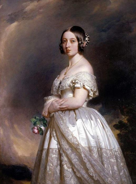 Королева Англии Виктория. Автор: Франц Ксавер Винтерхальтер.