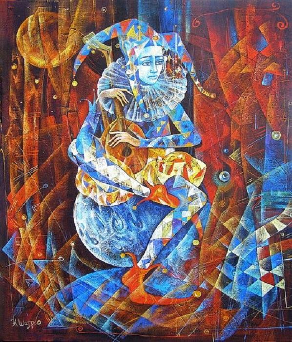 Грустный Арлекин. Метареализм от Наталии Шатровой.