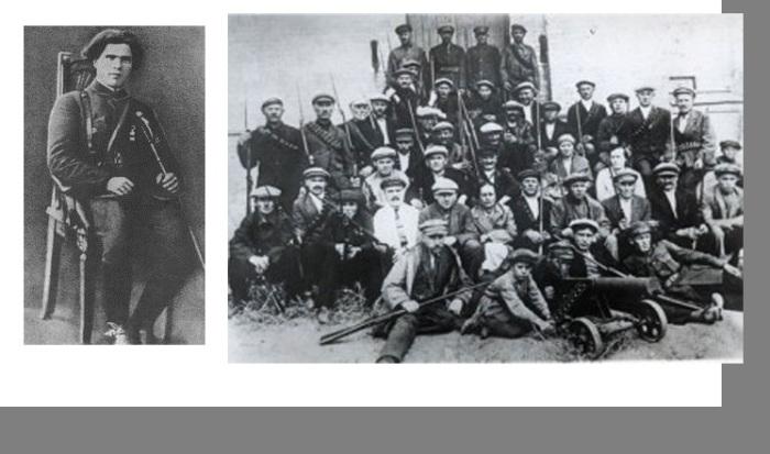 Нестор Махно. / Повстанческая армия батьки Махно.