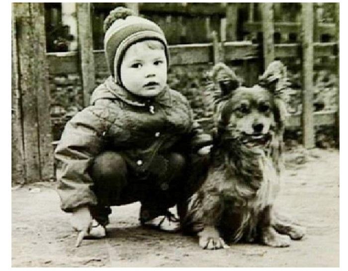 Андрей Данилко в детстве.
