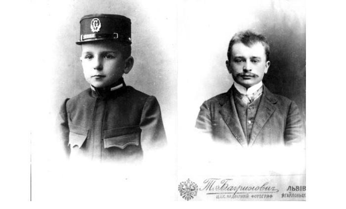 Андрей Франко в школьные годы и во время учебы в гимназии.