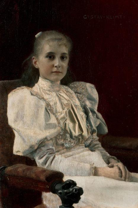 Юная девушка. Автор: Густав Климт.
