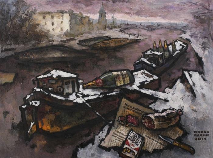 Авангардная живопись Оскара Рабина.