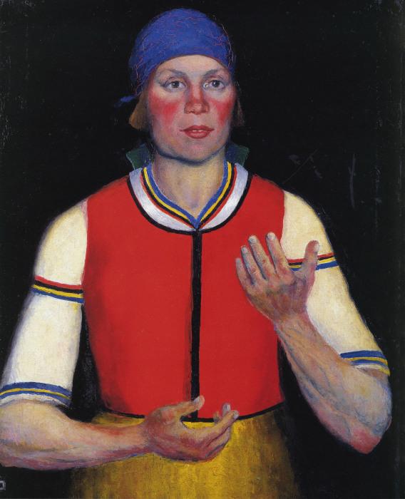 Работница. 1933. Государственный Русский музей, С.-Петербург