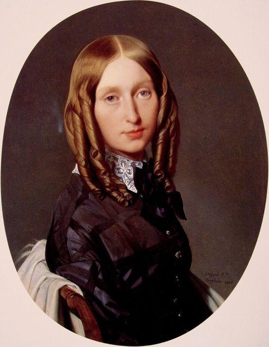 Madame Frederic Reiset. Автор: Доменик Энгр.