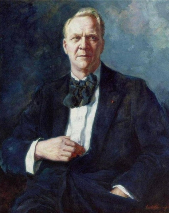 Фёдор Иванович Шаляпин (портрет кисти сына - Бориса Фёдоровича Шаляпина, 1934 год.)