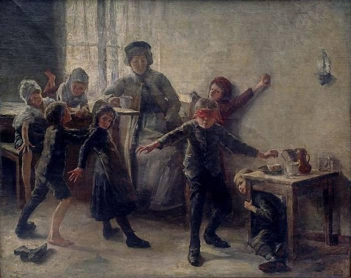 Фердо Весель (словенец, 1861-1946), Блинде Кух. (1891 год).