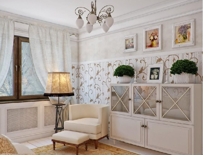 Стиль прованс в интерьере. |Фото: belfan.ru.