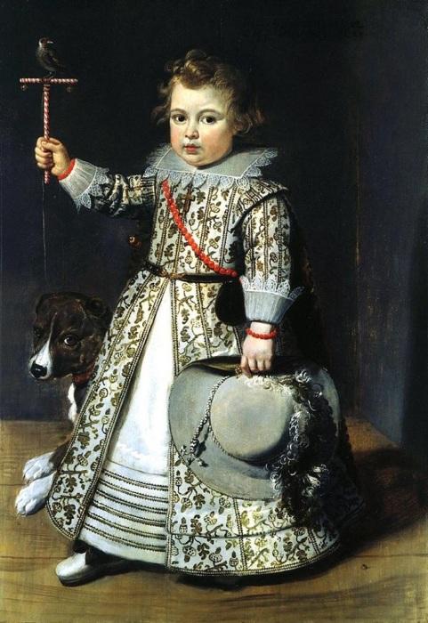 Портрет мальчика. (1620-1630-е годы.) Автор: Неизвестный фламандский художник.