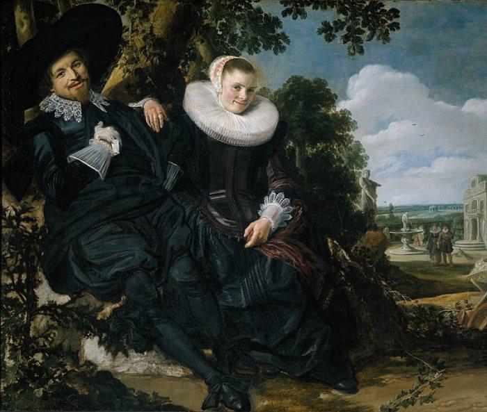 «Семейный портрет Исаака Массы и его жены» (1622). Амстердам. Рейксмузеум. Автор: Франс Хальс.