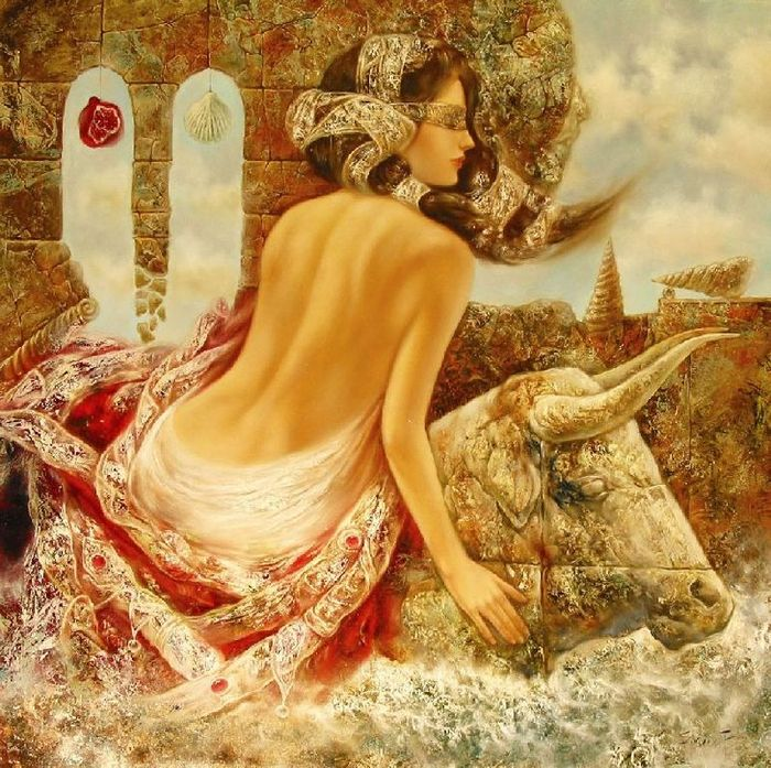 Чувственно-эротические картины от Станислава Сугинтаса.