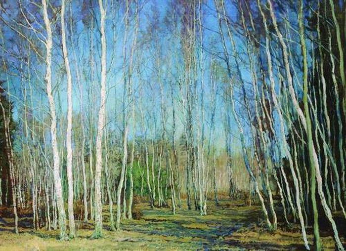 «Голубая весна». (1930). Автор: Бакшаев В. Н.