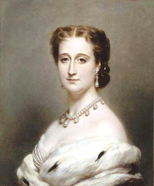 Императрица Евгения - супруга Наполеона III. Автор: Франц Ксавер Винтерхальтер.