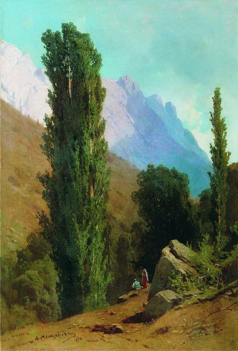 «Крымский пейзаж» (1870 год). Частное собрание