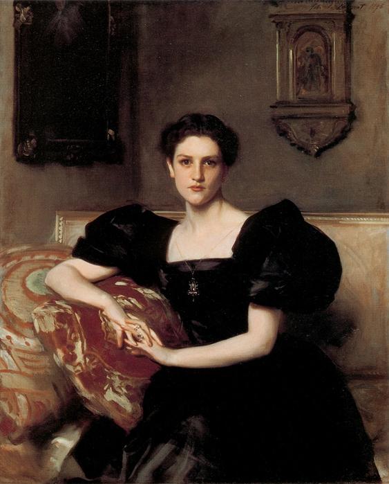 Элизабет Винтроп Чанлер. 1893. Автор: Джон Сингер Сарджент.