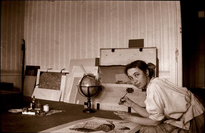 Наталья Гончарова - русская художница- авангардистка.