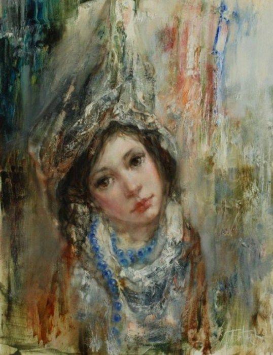 Женские портреты от Станислава Сугинтаса.