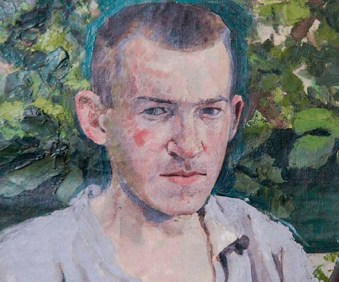 В.Э. Борисов-Мусатов. Автопортрет.