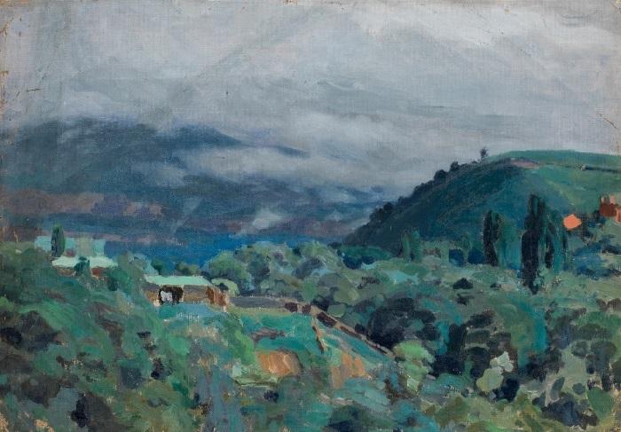В.Э. Борисов-Мусатов. «Кавказские горы». После 1895 г.