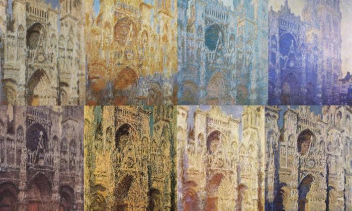 Цикл «Руанский собор». Автор: К.Моне.