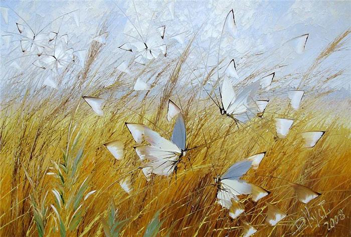 Волшебные бабочки Дмитрия Кустановича.