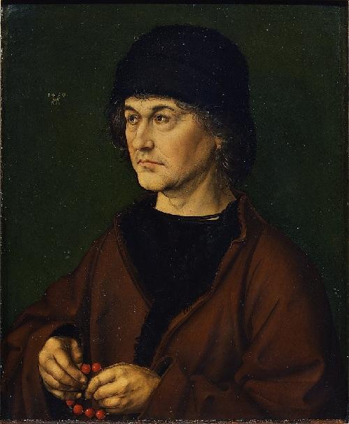 Отец. Дюрер Альбрехт-старший. (1490). Автор: Альбрехт Дюрер.
